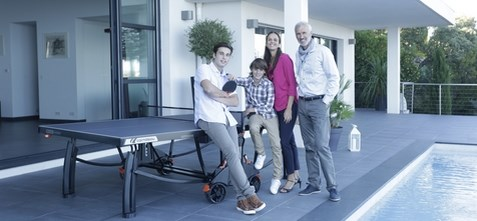 table de ping pong cornilleau 700 m crossover famille
