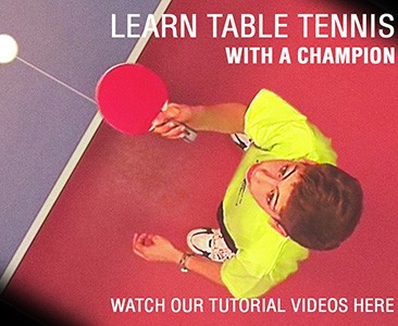 Learn table tennis with a champion